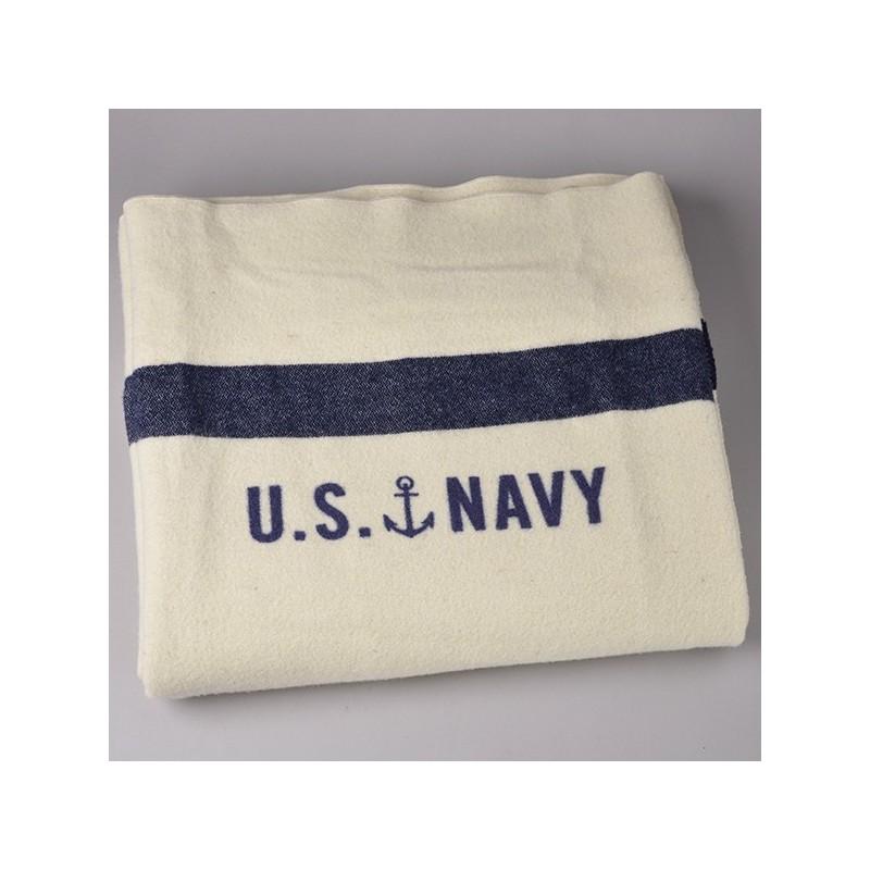 Us Navy Military Wool Blanket⎟ Faribault Mill ⎟ Le