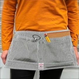 Waist Apron - Hickory Stripe - POINTER BRAND