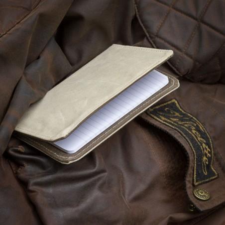Couverture carnet en coton huilé - made in USA