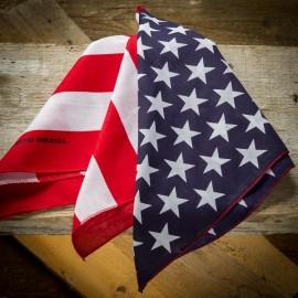BANDANNA USA FLAG made in USA