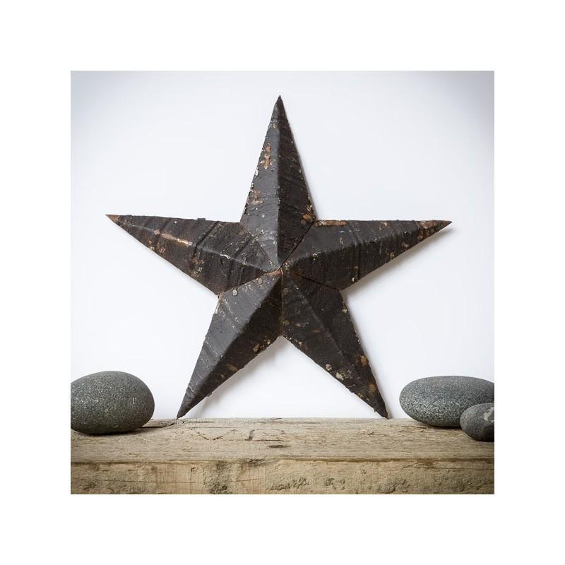 Amish Tin Barn Star Black Made In Usa⎟ Lecomptoiramericain