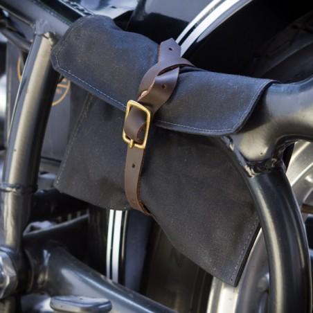 Trousse outils coton huilé noir - made in USA