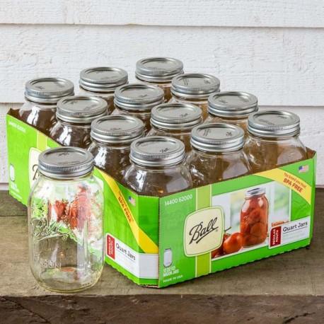 Bocal Mason Jar Regular - 32oz - made in USA