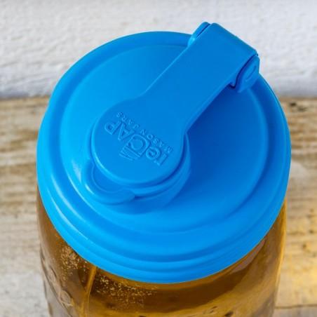 Couvercle Verseur-Doseur REGULAR - Bleu pâle - made in USA
