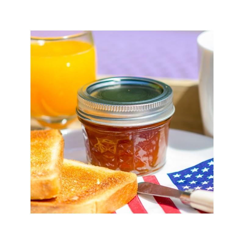 pot mason jar jelly quilt 4 oz le comptoir americain. Black Bedroom Furniture Sets. Home Design Ideas