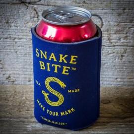 Waterproof Snake Bite Keychain Bottle Opener Black Silicone