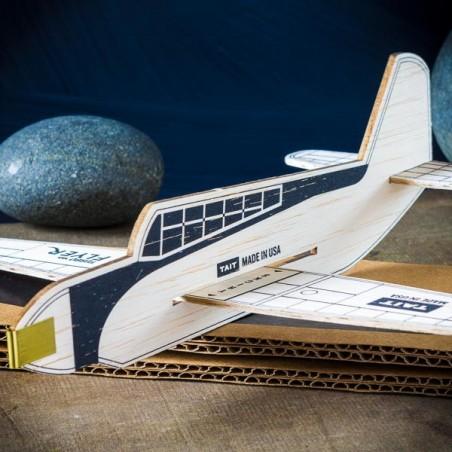 Kit avion en Balsa TURBO FLYER® NOIR Made in USA