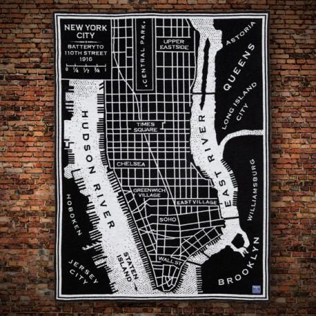 Plaid Manhattan made in USA livraison gratuite France