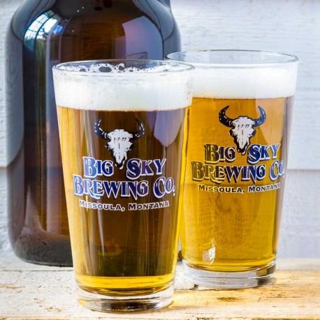 Duo de verres à bière Big Sky Brewing Co - made in USA