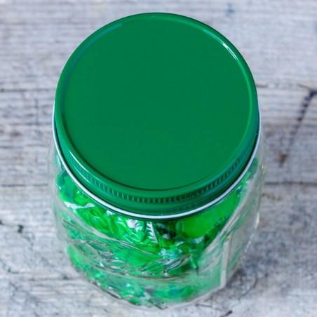 Couvercle étanche métal Vert - Regular - Made in USA