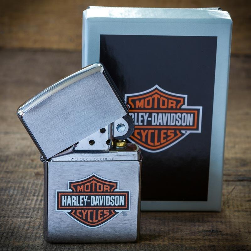 Briquet Zippo Harley Davidson Le Comptoir Americain