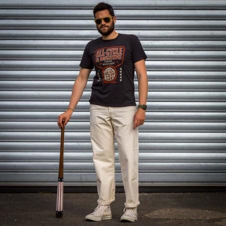 Pantalon blanc de peintre 4 Pocket Made in USA