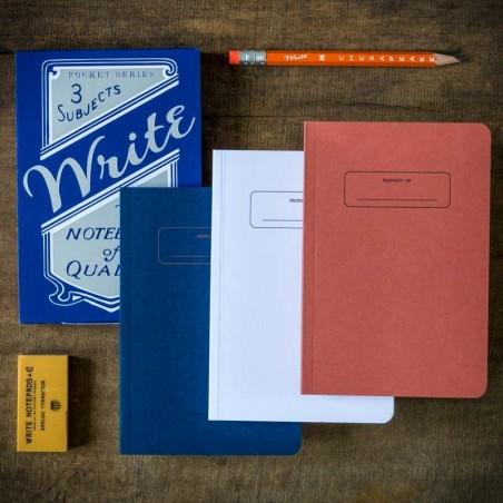 Carnets trio Bleu Blanc Rouge WRITE® made in USA