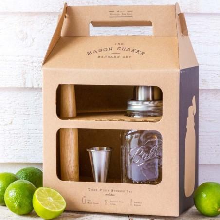 Kit Cocktail Shaker 32oz  Mason Jar - made in USA