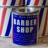 "Bougie parfumée ""BARBER SHOP""  - Made in USA"