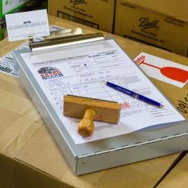 Porte documents A4 Aluminium SAUNDERS MFG™ Made in USA