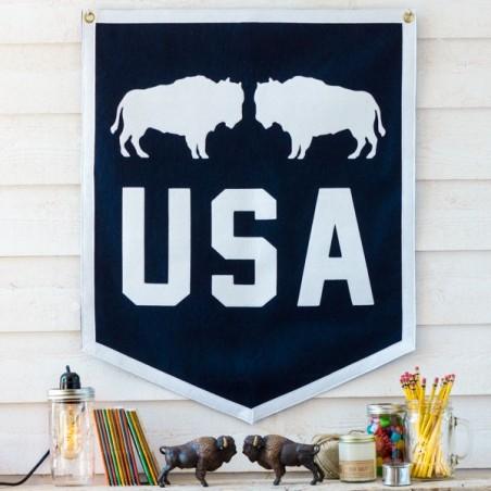 Fanion USA made in USA - pièce unique