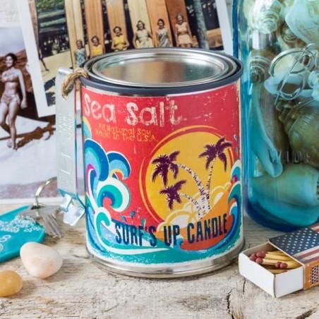 Bougie parfumée Surf Up SEA SALT - made in USA