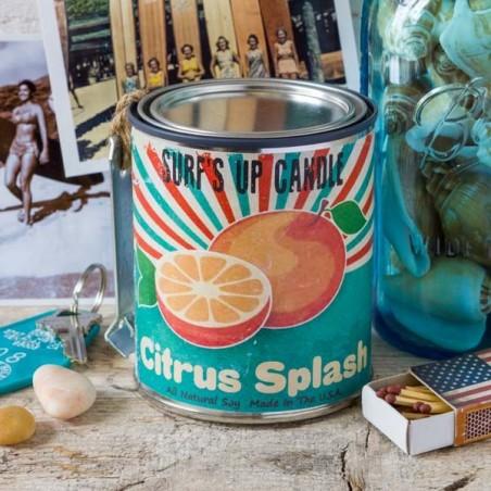 Bougie parfumée Surf Up CITRUS SPLASH - made in USA