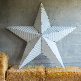 AMISH TIN BARN STAR XL (120cm) BLACK made in USA