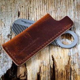 Idee Cadeau Etats Unis.Etui Peigne A Barbe Tan Leather Made In Usa Etui Peigne A Barbe Tan Leather Made In Usa
