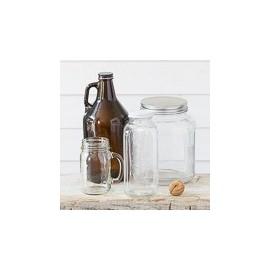Packs Mason jar & couvercles