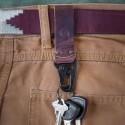 Porte clés pour ceinture