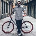 Cycliste urbain