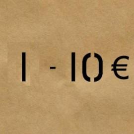 1 - 10 €