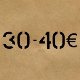 30 € - 40 €