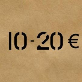 10 € - 20 €