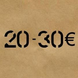 20 € - 30 €