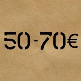 50 € - 70 €