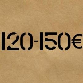 120 € - 150 €