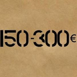 150 € - 300 € - livraison gratuite France/Belgique